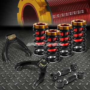 Rear Lower Toe Control Arm Camber Kit Suspension Coilover For 96 00 Civic Eg Dc