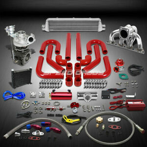 Td05 16g 360hp 14pc Turbo Charger manifold intercooler Kit For B series B16 b18