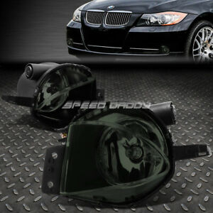 For 2006 Bmw 325i 330i 07 08 328i Smoked Lens Bumper Fog Light Lamps W Switch
