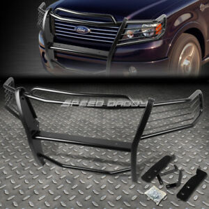 For 04 08 Ford F150 Pickup Truck Black Coated Mild Steel Front Grill Frame Guard