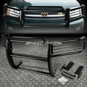 For 01 07 Toyota Sequoia Uck Suv Black Coated Mild Steel Front Grill Frame Guard