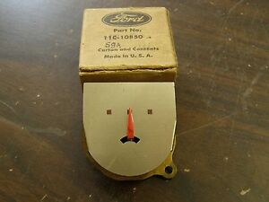Nos Oem Ford 1946 1947 1948 Mercury Amp Charge Gauge Indicator