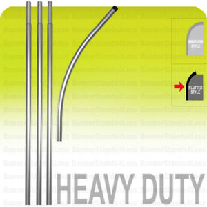 Swooper Flag Pole Heavy Duty 15 Pole Pole Only no Spike