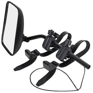 Universal Dual View Towing Mirror Extra Wide Adjustable For Hauling Moving 2pc