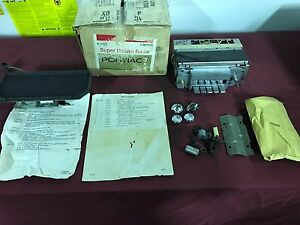 Nos 1969 Pontiac Catalinna Executive Bonneville Am Radio Kit Gm 988576