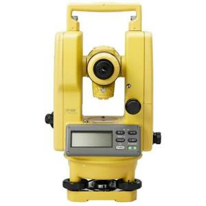 Topcon Dt 209 Horizontal And Vertical Weatherproof Digital Theodolite 303216141