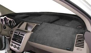 Fits Mazda Protege 1997 1998 Velour Dash Board Cover Mat Charcoal Grey