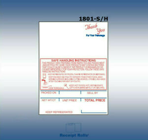 Hobart Shi Style K Sp 80 sp 1500 Style 1 2 1 4 X 3 0 Scale Labels