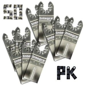 50pk Fast Cut Wood plastic Multitool Blades Compatible W Fein Multimaster