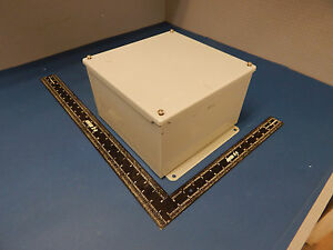 Hoffman A10106sc Electrical Enclosure Junction Box 2 Hole Type 12 13