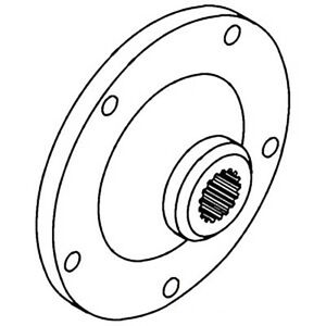 164103a Pto Hub For Oliver Tractors 1750 1755 1850 1855 1950t 1955