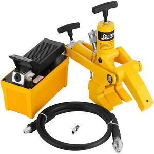 Tractor Changetruck Tire Hydraulic Bead Breaker Changer W 10000 Psi Foot Pump