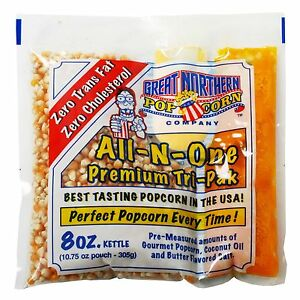 Great Northern Un popped Popcorn 8 Oz 40 count