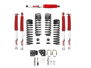 Rancho 2 Sport System Lift Kit For 2007 2009 Jeep Wrangler Jk Unlimited 4wd