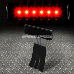 For 07 17 Jeep Wrangler Jk Led Third 3rd Tail Brake Light Rear Stop Lamp Smoked