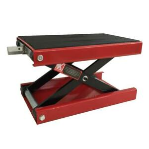 1100lbs Mini Scissor Lift Jack Atv Motorcycle Or Dirt Bike Scooter Crank Stand