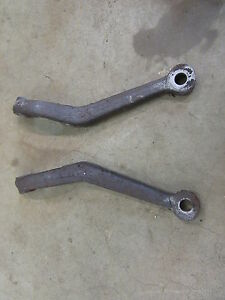 1953 1954 Pontiac Chieftain Front Spindle Steering Arm Pair Set Hot Rod Rat Rod