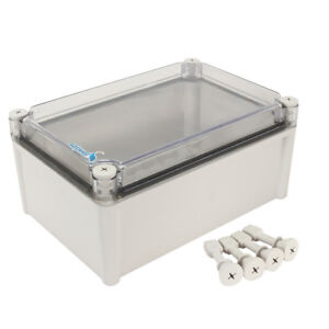 11 x7 5 x5 1 Abs Junction Box Universal Project Enclosure W Pc Cover