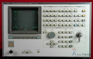 Anritsu Ms9001a1 Optical Spectrum Analyzer 600 Nm 1750 Nm