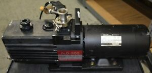 Ulvac Gld 200 Vacuum Pump as is 5 Day Ror
