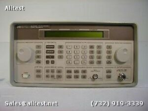 Hp agilent 8648b Synthesized Signal Generator 9 Khz To 2000 Mhz