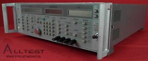 Wiltron 6759a 010 Synthesized Signal Generator 10 Mhz 26 5 Ghz 110db W Opt