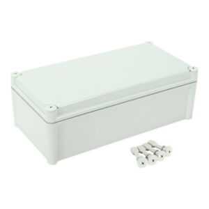 15 x7 5 x5 1 Abs Dustproof Ip65 Junction Box Electric Project Enclosure