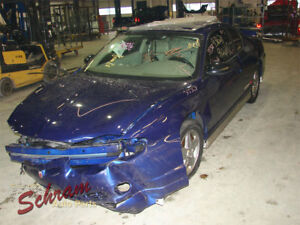 Console Front Floor Fits 00 05 Monte Carlo 13261