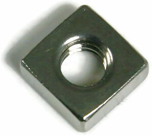 Stainless Steel Square Nuts Unc 1 4 20 Qty 250