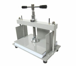 A4 Size Manual Flat Paper Press Machine For Books Invoices E