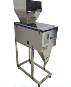 Semi auto1200g Weighing filling Powder Machine chemical Powder Filler For Food E