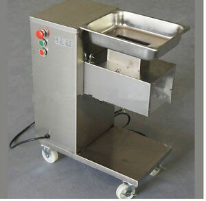Brand New Removable Slicing cutting Meat Machine 500kg hour 1 Cutting Blade E