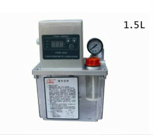 110v 1 5l Auto Lubrication Pump Cnc Digital Electronic Timer Automatic Oiler