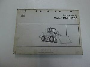 Volvo Bm L120c Parts Catalog Manual Missing Cover Stained Factory Oem Book Deal