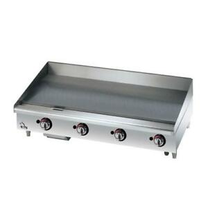 Star 648mf Star max 48 Manual Control Gas Griddle Flat Top Grill