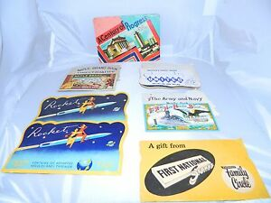 Lot Of 10 Vintage Antique Sewing Needle Books Mix Of New Used Great Advertising