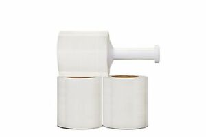Pre stretch Plastic Wrap 5 X 1000 X 32 Gauge Stretch Film 12 Rolls 1 Case