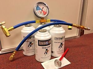 Enviro safe Modern Refrigerant R12 Or R134a Alternate Ac Replacement Kit