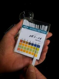 50pack lot Alkaline Ph Test Paper Strips Indicator Litmus Kit Testing Ph1 14 E