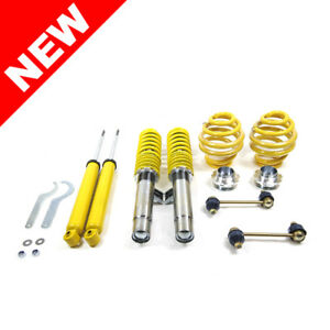 Rsk Street Adjustable Coilover Kit Bmw E46 3 series non M3 Yellow Coilovers