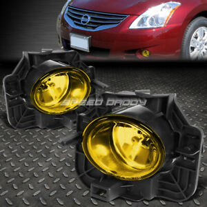 For 07 09 Nissan Altima Sedan L32a Yellow Lens Oe Bumper Driving Fog Light Lamp