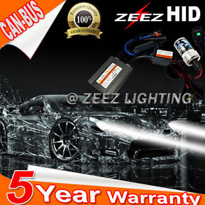 Zeez Canbus Asic Hid Bi xenon Conversion Kit High Beam Bulb 6000k 8k 10k H4 9003