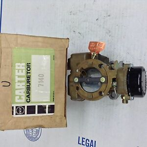 Nos Carter Yf Carburetor 7140s 1971 Ford Cars 200 1971 1972 Ford Truck 240