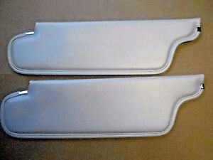 Mopar 67 68 Roadrunner Coronet Satellite Pearl White Convertible Sunvisors New