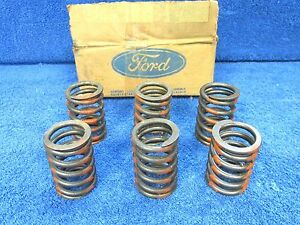 1968 72 Ford 429ci 460ci Intake Exhaust Valve Springs 6 Nos Ford 617