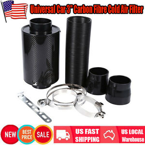 Us Universal Air Feed Cold Filter Intake System Pipe Induction 3 Extension