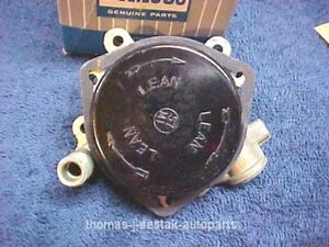 57 Ford Mercury Thunderbird T bird Complete Four Barrel Holley Choke Assembly