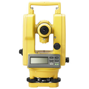 Topcon Dt 205l 5 inch Durable Digital Theodolite W Laser Pointer 303217101