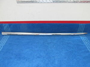 1949 50 Lincoln 4 Door Rh Quarter Panel Trim Moulding Nos 617
