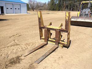 Gb Garbro Fork Attachment Lumber Forks Log Forks Front End Loader Forks